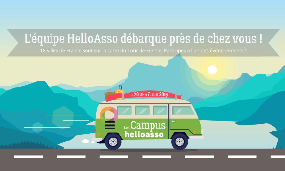 Rencontres et formations : les Campus HelloAsso arrivent dans 18 villes françaises !