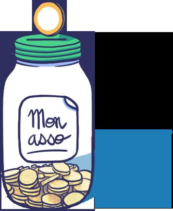 """financer une associations grâce aux cotisations illustration"""""""